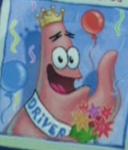 Patrick's License Picture