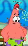 Patrick Wearing a Zoo Hat