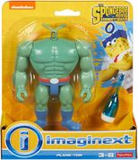 Sponge out of water Imaginext Plank-Ton