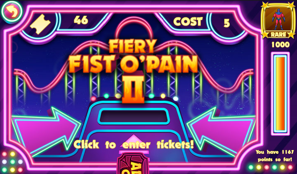 Fiery Fist O' Pain II