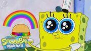 """Can """"Rainbowger"""" Survive Plankton's Color Nullifier? SpongeBob"""