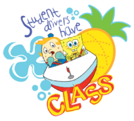 SpongeBob-Mrs-Puff-student-drivers-class