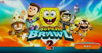 Original title screen