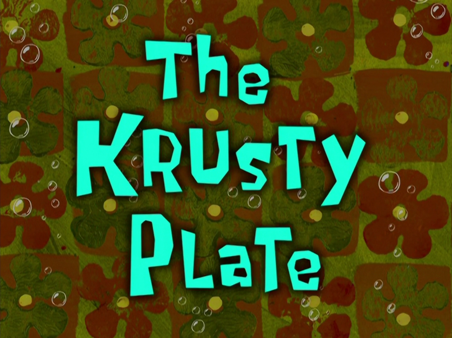 The Krusty Plate/transcript