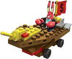 Mega Bloks SpongeBob - Mr Krabs racer(ootb)