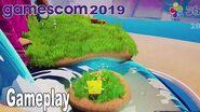 SpongeBob SquarePants- Battle for Bikini Bottom Rehydrated - Gameplay Demo Gamescom 2019 -HD 1080P-