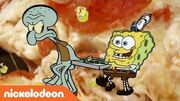 SpongeBob SquarePants - 'Krusty Krab Pizza' Official Remix Music Video - Nick