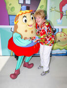 Mary Jo Catlett with Mrs Puff