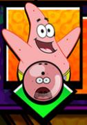 Shock Patrick bowling ball in Nickelodeon Lanes