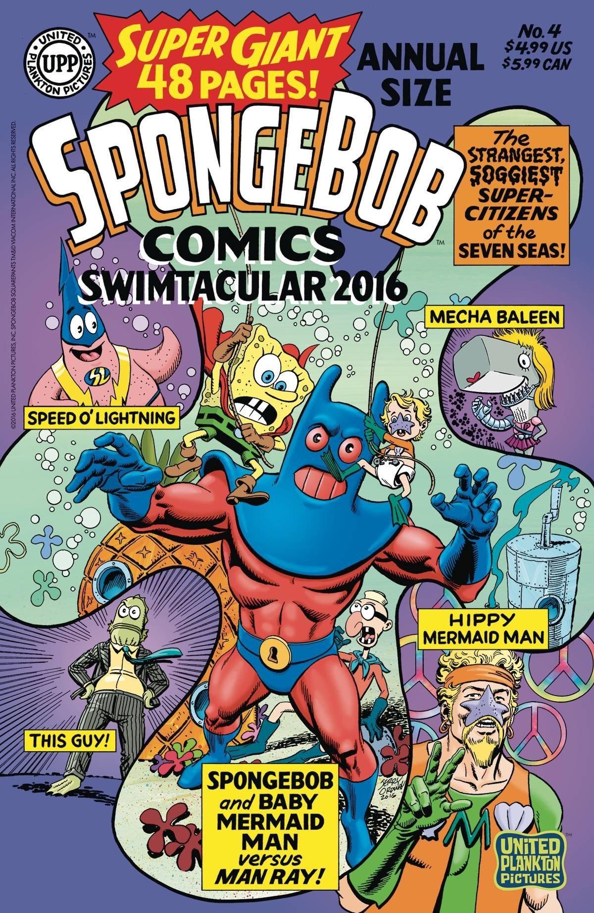 SpongeBob Comics Annual Super-Giant Swimtacular No. 4