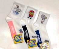 SpongeBob-characters-socks