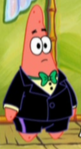 Patrick Wearing Fancy Clothes2