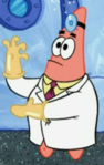 Patrick as a Doctor