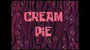 SpongeBob Music-Cream Pie