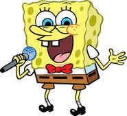 SpongeBob Telling a Joke