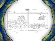 Grandpappy the Pirate storyboard panels-8