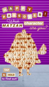 Nickelodeon's Instagram story - Passover matzah character - Mrs. Puff