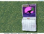 The Camping Episode calendar art