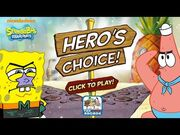 SpongeBob SquarePants- Hero's Choice - More Alternate Endings (Nickelodeon Games)