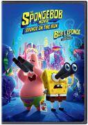 The SpongeBob Movie - Sponge on the Run Bilingual DVD cover