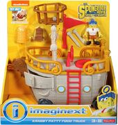 Sponge out of water Imaginext Food Truck