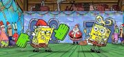 It's a SpongeBob Christmas! concept art