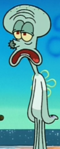 Noseless Squidward