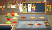 SpongeBob, You're Fired! (online game) - Taco Sombrero job