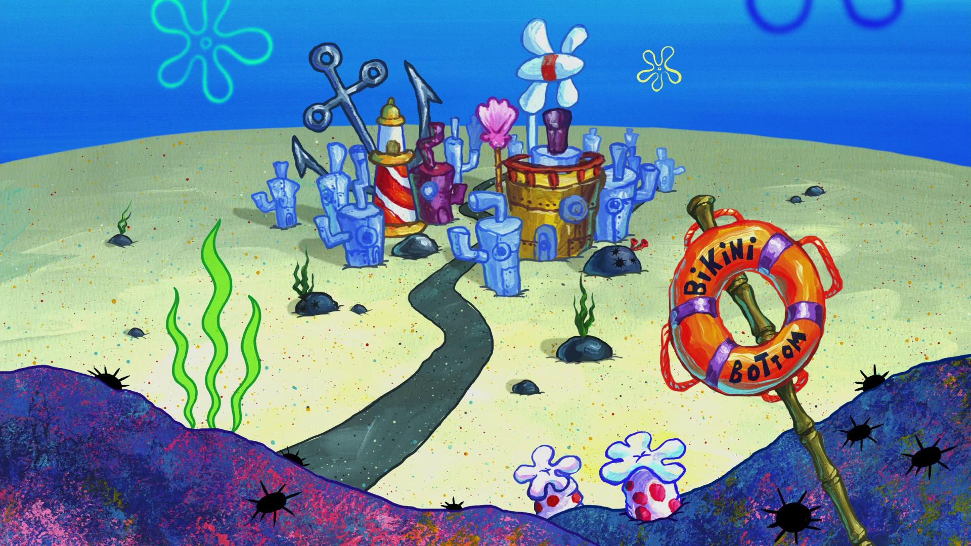 Spongebob Squarepants Bikini Bottom