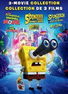 The Spongebob 3 Movie Collection DVD Cover