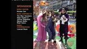 Nickelodeon Monday Knight Slimetime Promo Over SpongeBob SquarePants Credits 2006