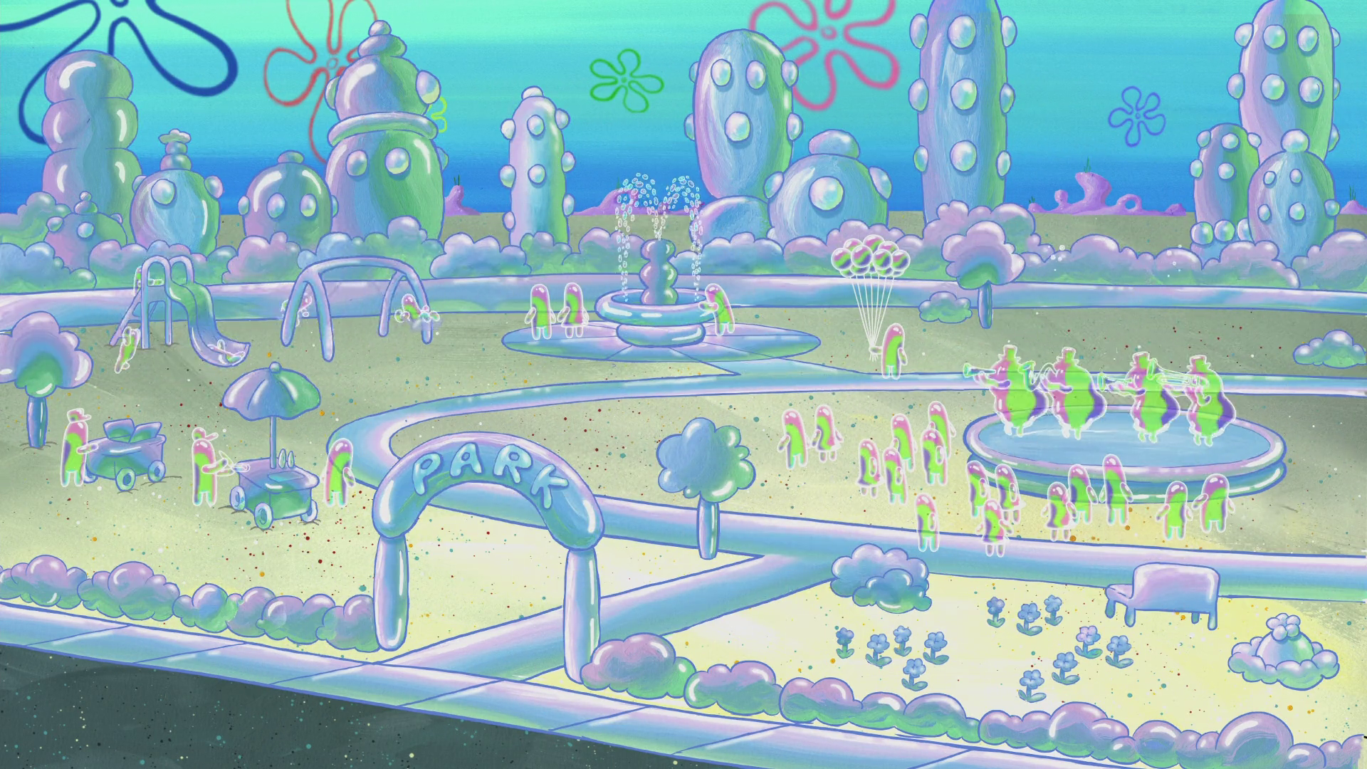 Bubbletown Park