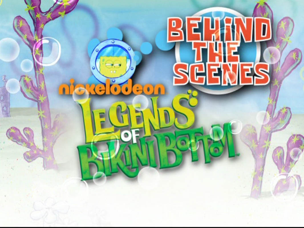 Behind the Scenes: Legends of Bikini Bottom/gallery
