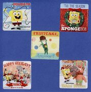 SpongeBob-characters-holiday-stickers