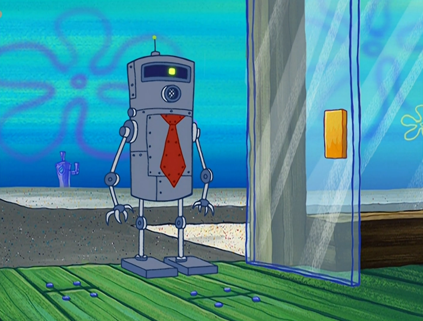 Plankton's robot
