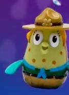 Mrs Puff Kamp Koral finger puppet