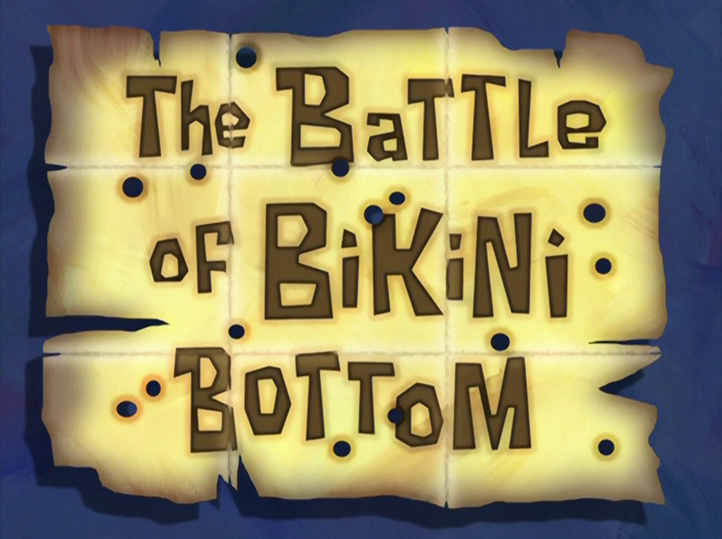 The Battle of Bikini Bottom/transcript