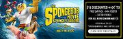 4DX SpongeBob Banner Kids 560x179