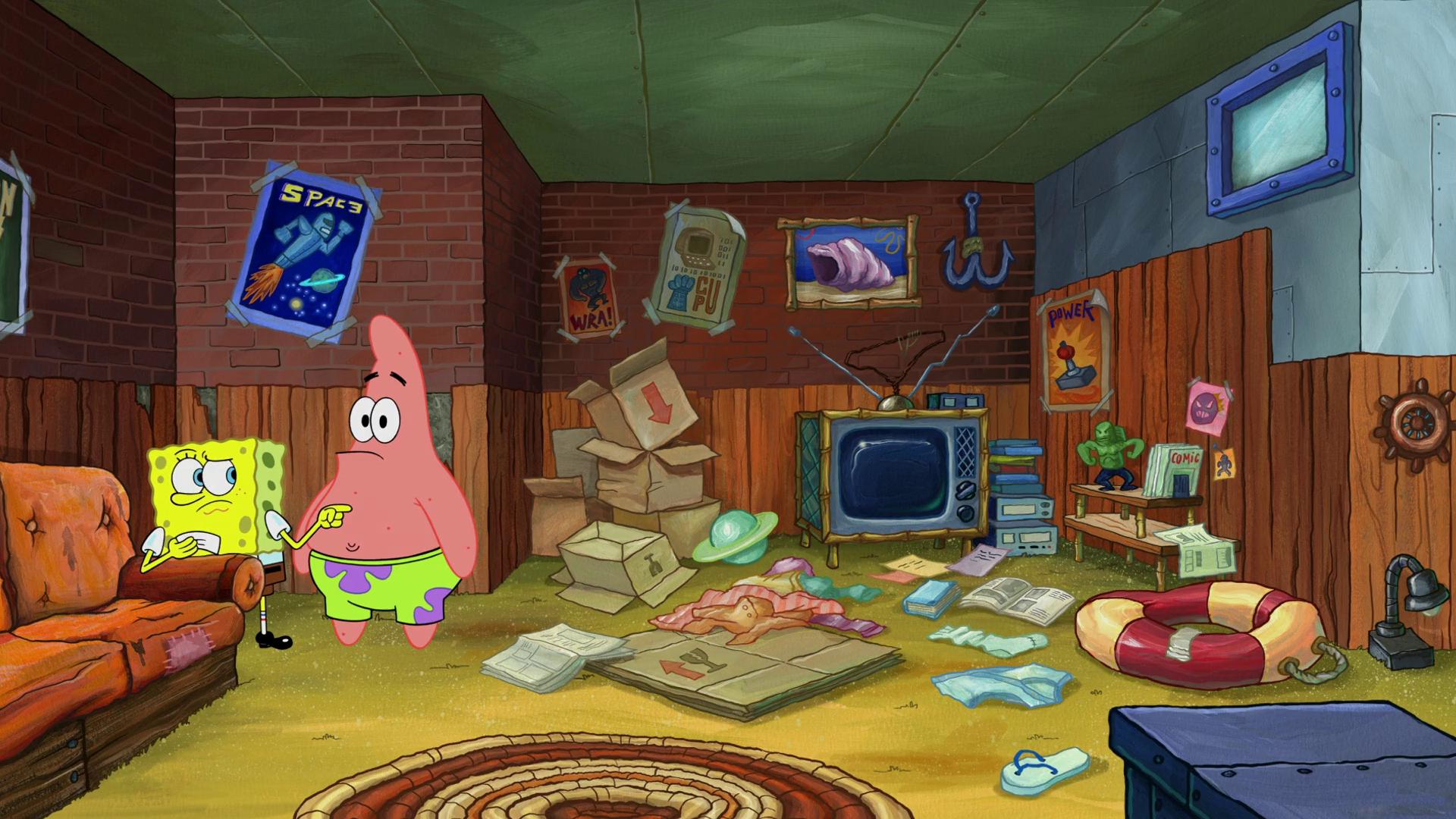 Mama Bass' basement