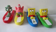 2012 Hungry Jack's toys