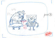 SpongeBob and Mrs Puff layout artwork-2