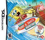 SpongeBob's Surf & Skate Roadtrip DS cover