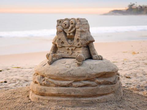 SpongeBob Sandcastle