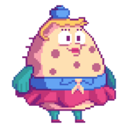 Nickelodeon-Mrs-Puff-pixel