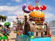 Krusty Krab parade
