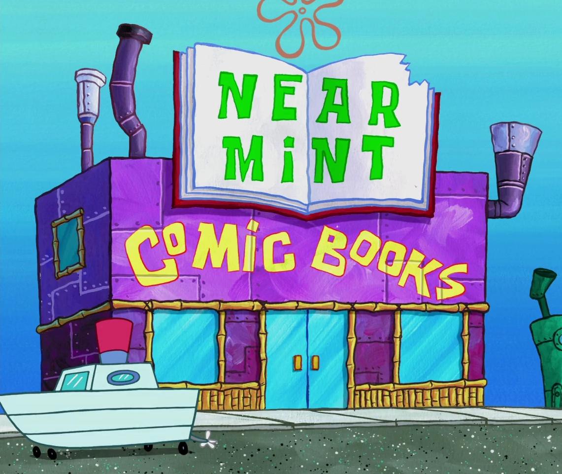 Near Mint Comic Books