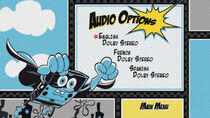 TAOSS Audio Options