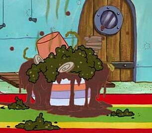 SpongeBob's sundae