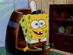 SpongeBob Liking The Boots