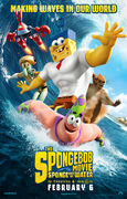 Sponge out of water poster 2